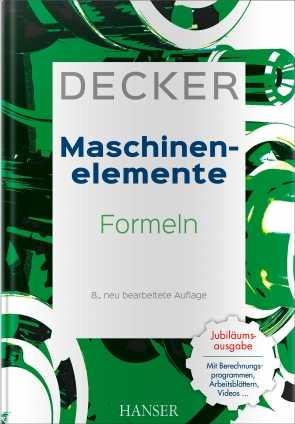 Decker Maschinenelemente - Formeln.