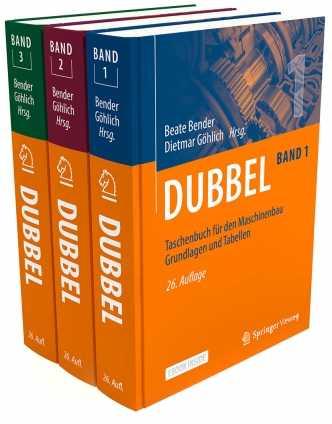 Dubbel Taschenbuch für den Maschinenbau 1 - 3.