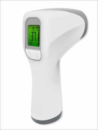 Kontaktloses Infrafrot Fieberthermometer T80/81.